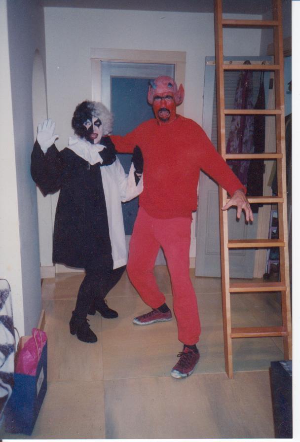devil and clown