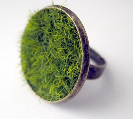etsy grass ring