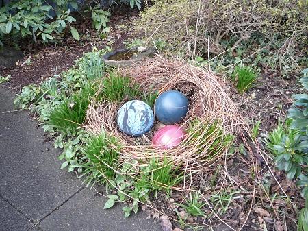 bowling birds' nest
