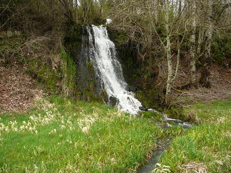 waterfall on Hwy 30