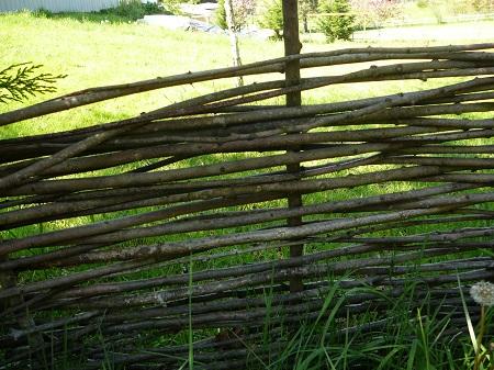 Susie's wattle fence