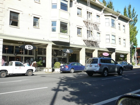 shops on Burnside
