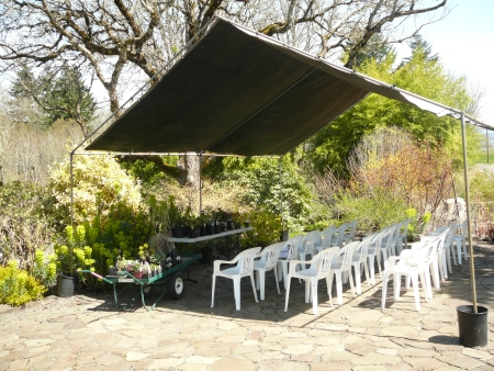 Joy Creek seminar tent