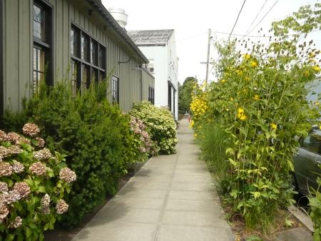 sidewalk borders