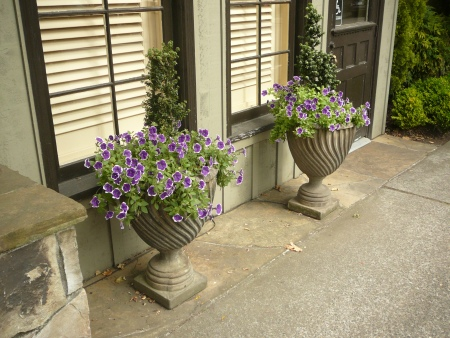 outdoor urns