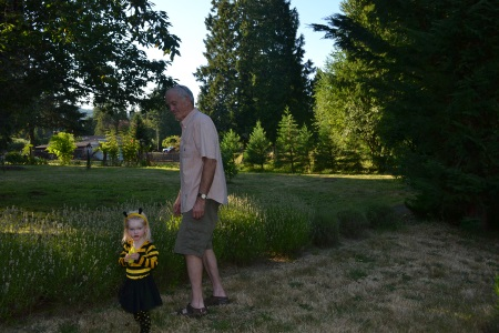 communing with the bees